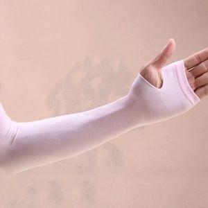 UV Sun Protection half finger Sleeves Armband